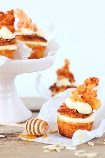 Rezept Bienenstich Cupcakes