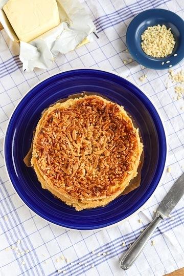 Rezept Bienenstich-Käsekuchen