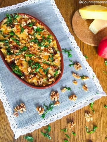 Rezept Bier Mac and Cheese mit Apfel und Bacon
