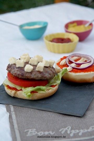 Rezept Bifteki-Burger