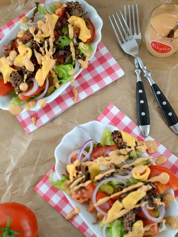 Rezept Big Mac Salat