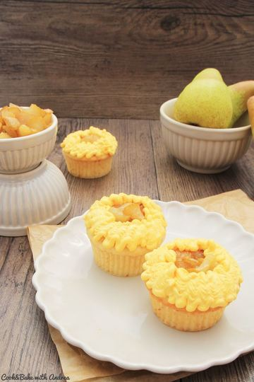 Rezept Birne-Vanille-Cupcakes