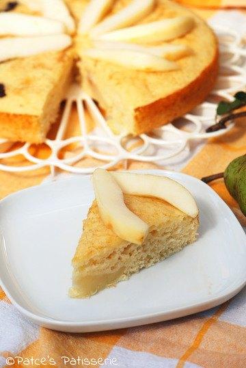 Rezept Birnen-Buttermilchkuchen ohne Butter  {Die schnelle Alternative zum Hefekuchen}
