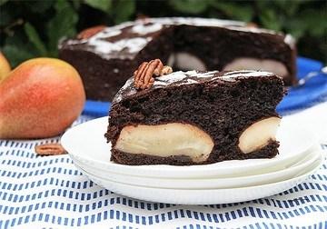 Rezept Birnen Schokoladen Kuchen