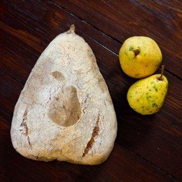Rezept Birnenbrot mit Schrot