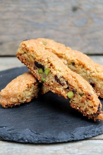 Rezept Biscotti mit Pistazien und getrockneten Kirschen