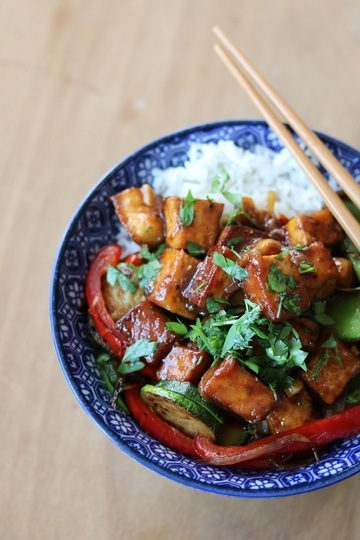 Rezept Black Pepper Tofu