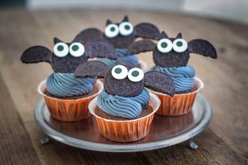 Rezept Black Velvet Halloween Cupcakes