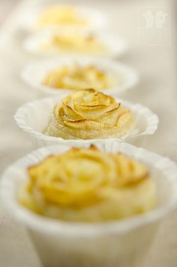 Rezept Blätterteig-Apfelrosen
