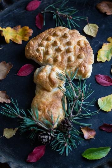 Rezept Blätterteig-Pilz-Pasteten