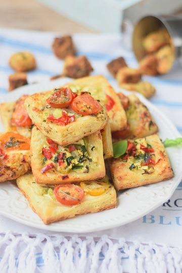Rezept Blätterteig-Snack für laue Sommernächte