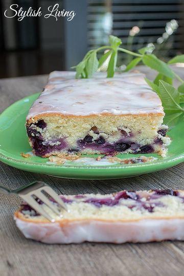 Rezept Blaubeer-Buttermilch-Kuchen