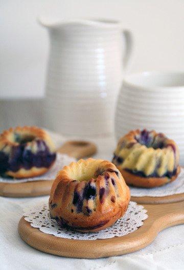 Rezept Blaubeer-Joghurt-Küchlein