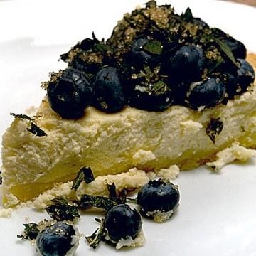 Rezept Blaubeer-Käse-Tarte