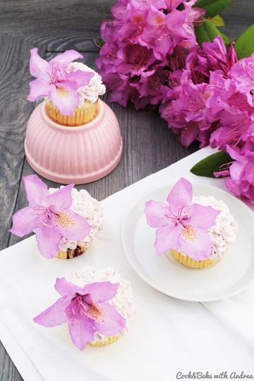 Rezept Blaubeer-Limette-Cupcakes