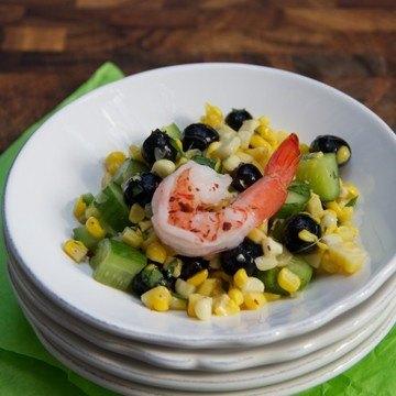Rezept Blaubeer-Mais Sommer Salat