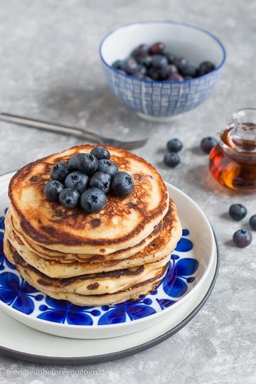Rezept Blaubeer-Pancakes
