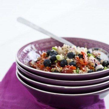 Rezept Blaubeer-Paprika-Bulgur