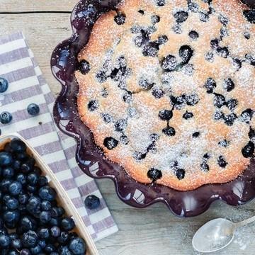 Rezept Blaubeer-Pfannkuchen aus dem Ofen