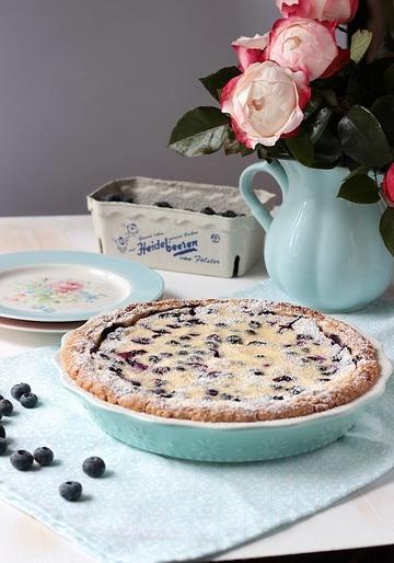 Rezept Blaubeer Pie