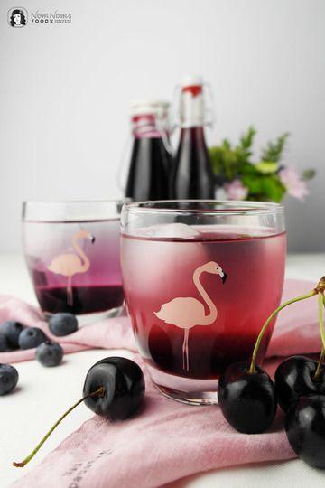 Rezept Blaubeer-Sirup und Kirsch-Sirup