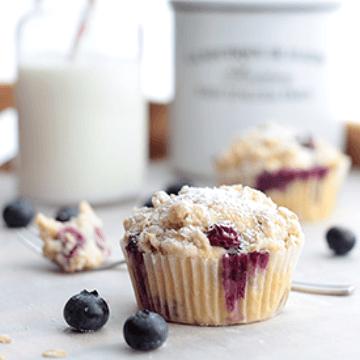 Rezept Blaubeer-Streusel-Muffins