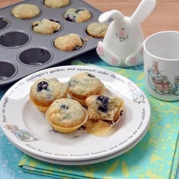 Rezept Blaubeer-Zitronen-Muffins