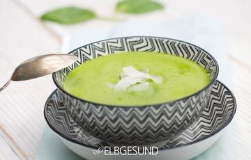 Rezept Blitz-Spinat-Kokos-Suppe – ganz fix nur im Mixer zubereitet, ganz ohne Herd