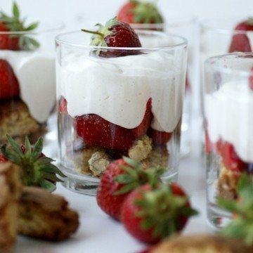 Rezept Blitzmäßiger Erdbeer-Tiramisu im Glas