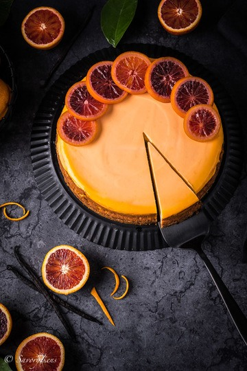 Rezept Blood Orange Cheesecake