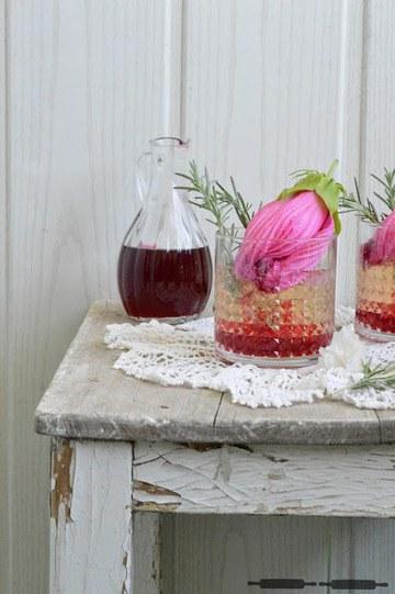 Rezept Bloody Hibiscus Drink