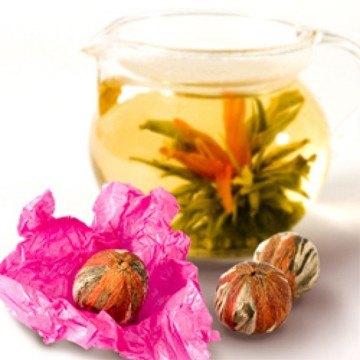 Rezept Blooming Tea – im Frühling!