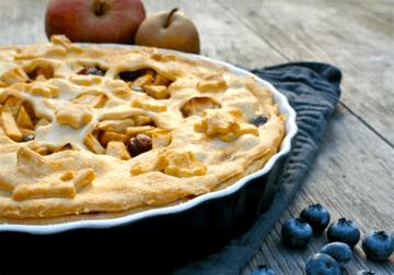 Rezept Blueberry Apple Pie
