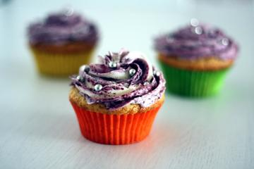 Rezept Blueberry Cupcakes