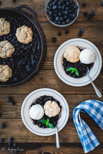 Rezept Blueberry Grunt – Dessert aus Nova Scotia