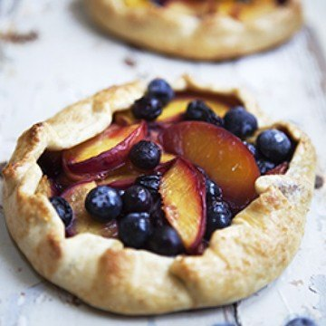 Rezept Blueberry-Nectarine-Galette