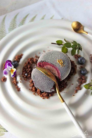 Rezept Blueberry Stone Törtchen in zwei Varianten