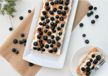 Rezept Blueberry-Tarte mit Karamell