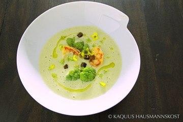 Rezept Blumenkohlsuppe mit Garnelen