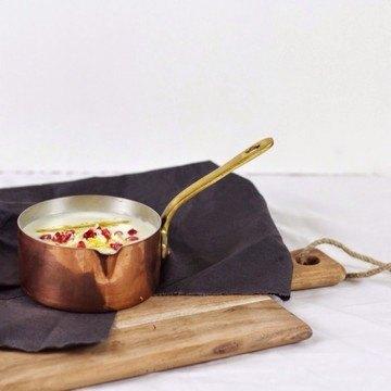 Rezept Blumenkohlsuppe mit Käse und Granatapfel