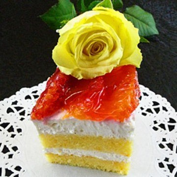 Rezept Blutorangen-Torte