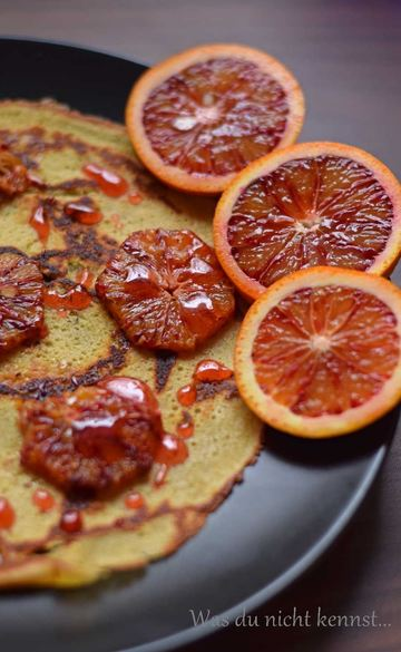 Rezept Blutorangenpfannkuchen