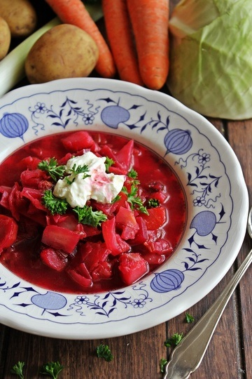 Rezept Borschtschsuppe - herzhafte Winterküche