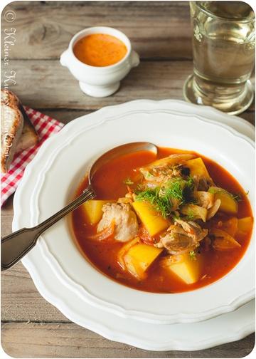 Rezept Bouillabaisse de poulet - Bouillabaisse mit Hühnchen