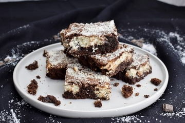 Rezept Bounty Brownies