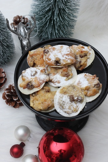 Rezept Bratapfel-Cookies / Weihnachtliches Plätzchen Rezept