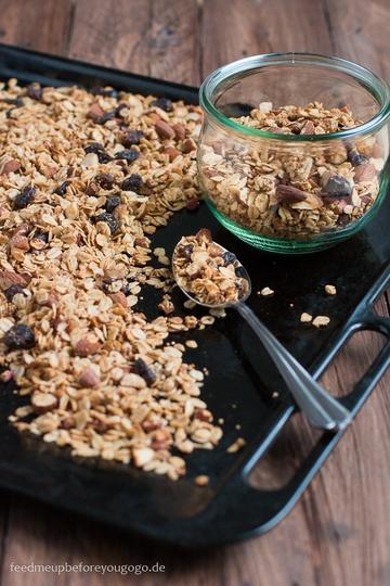 Rezept Bratapfel-Granola mit winterlichen Gewürzen