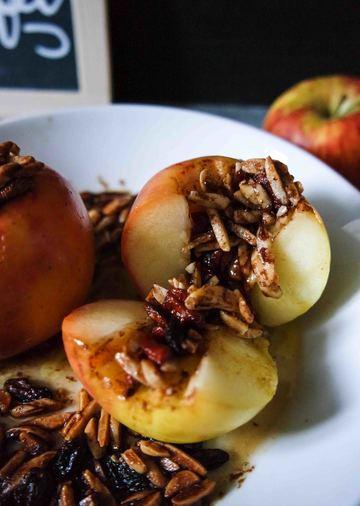 Rezept Bratäpfel mit Goji-Beeren
