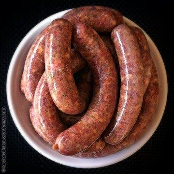 Rezept Bratwurst, Merguez-Style.