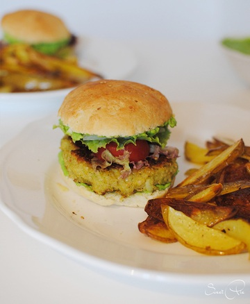 Rezept Broccoli-Quinoa-Burger